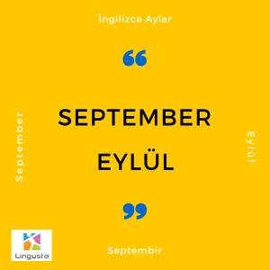 eylül september