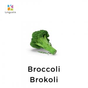 ingilizce brokoli broccoli