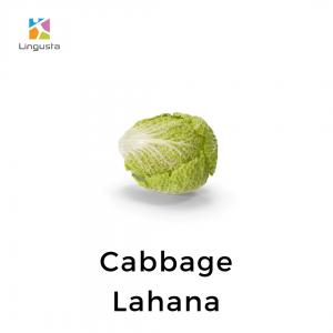 ingilizce lahana cabbage
