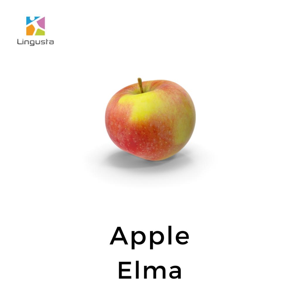 ingilizce apple elma