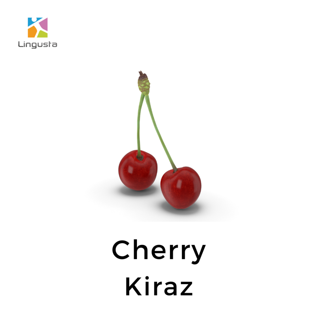 ingilizce kiraz cherry