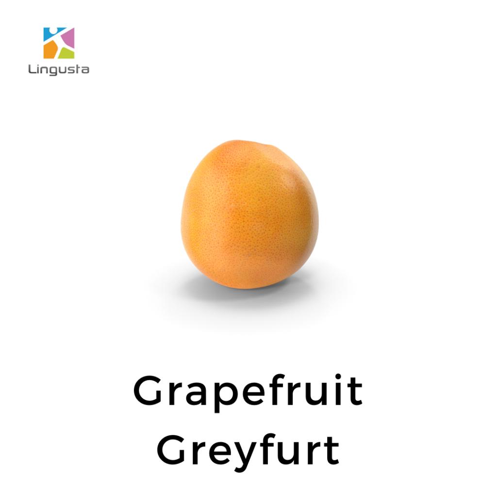 ingilizce greyfurt grapefruit