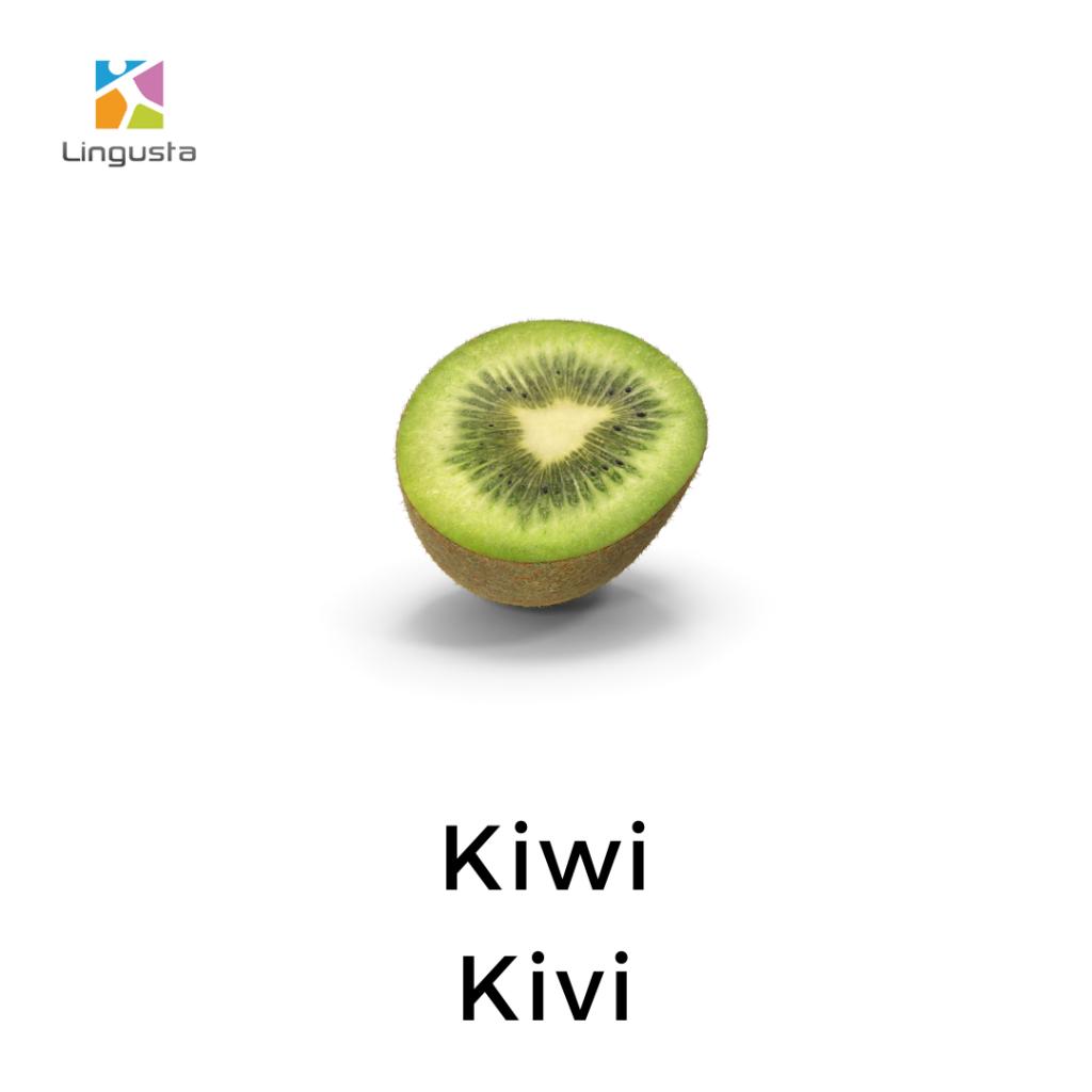 ingilizce kivi kiwi