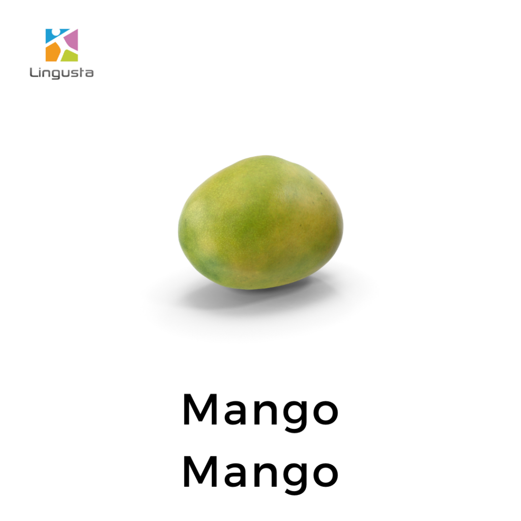 ingilizce mango mango